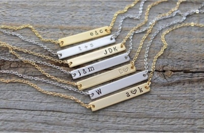 personalizedhandstampednecklace