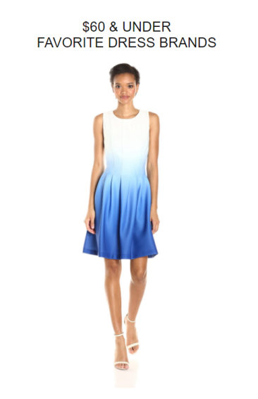 designer dress under 60