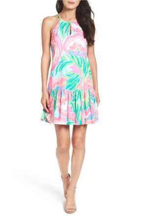 lilly pulitzer isabau drop waist dress