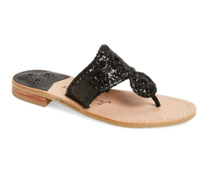 Cleo Sparkle Whipstitched Sandal