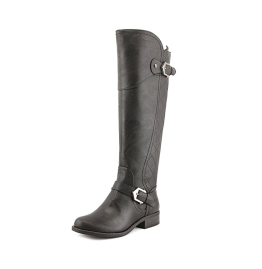 G By Guess Hilli Round Toe Leather Knee High Boot.png