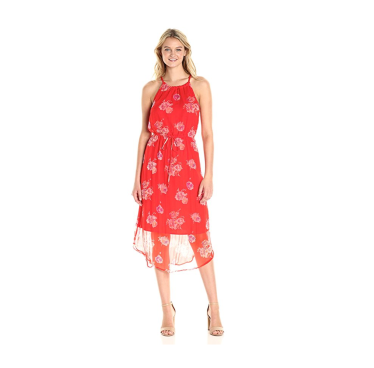 lucky brand red dress
