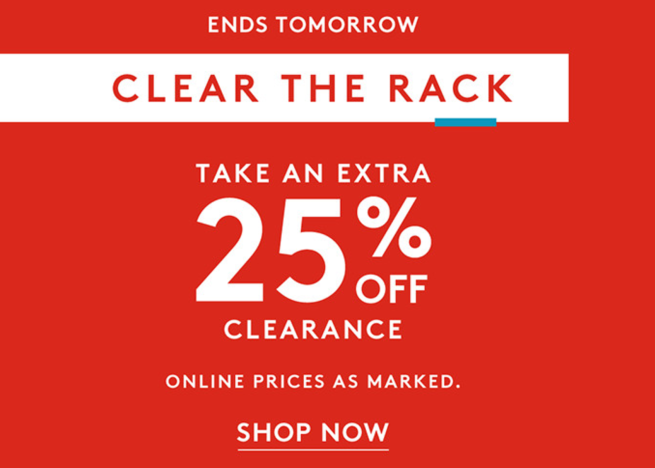 Nordstrom Rack - Clear The Rack
