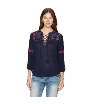 lucky brand embroidered top.png