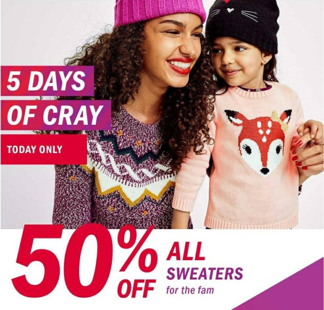 old navy cray
